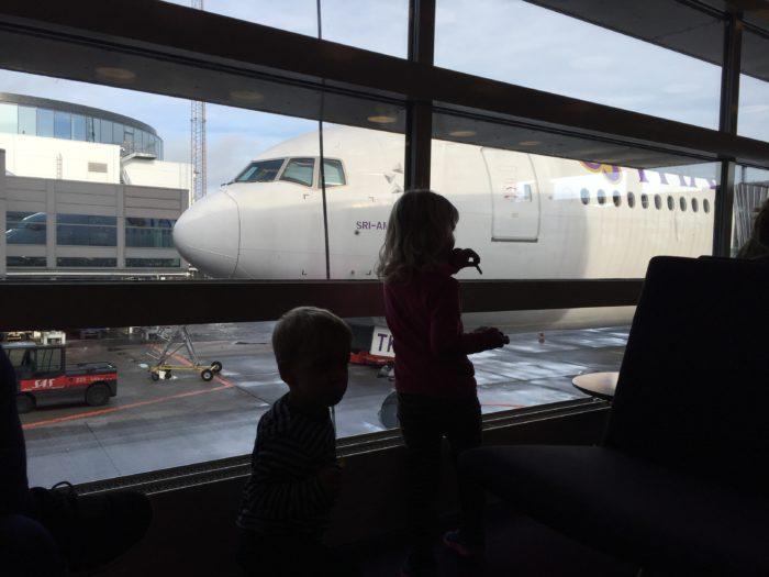 Flyve med små børn