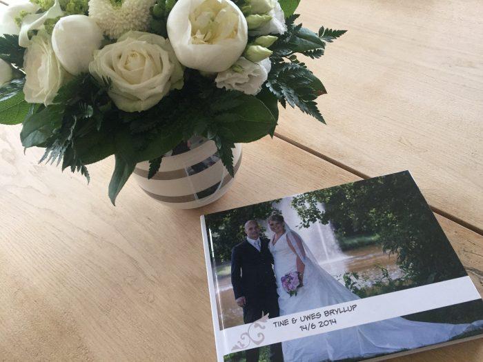 Bryllupsbog med minder